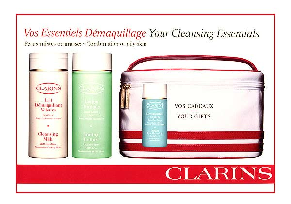 отзывы фото Clarins Cleansing. Your Cleansing Essentials